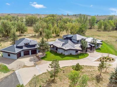 Niwot Single Family Home Active: 15690 North 83rd Street