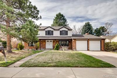 Centennial Single Family Home Active: 8382 East Hunters Hill Drive