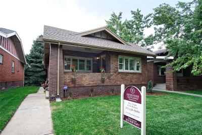 Washington Park Single Family Home Under Contract: 777 South Ogden Street