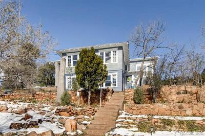 Manitou Springs Single Family Home Active: 48 Lincoln Avenue