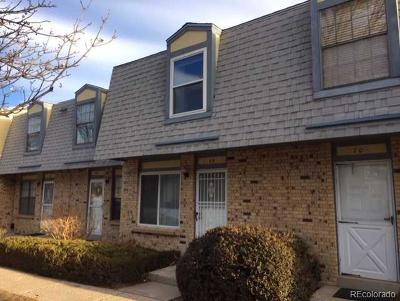 Lakewood CO Condo/Townhouse Under Contract: $250,000