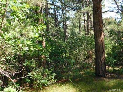 Larkspur CO Residential Lots & Land Active: $140,000