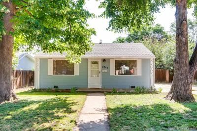Denver Single Family Home Under Contract: 2260 South Linley Court