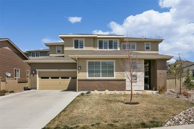 Castle Rock Single Family Home Active: 4235 Manorbrier Circle