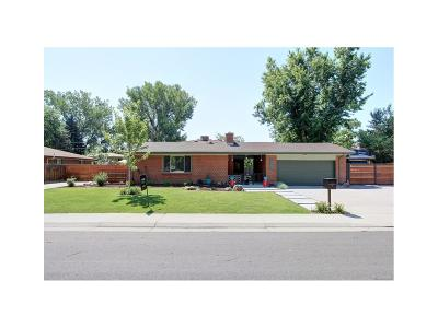 Wheat Ridge Single Family Home Active: 12276 West 34th Place