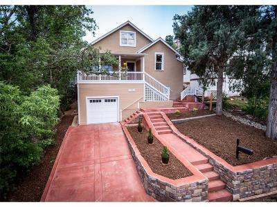 Manitou Springs Single Family Home Active: 209 Elk Path