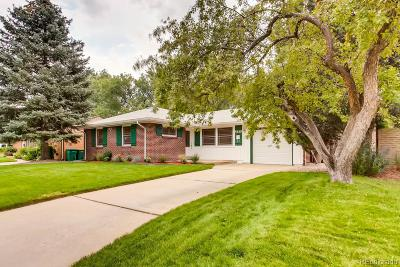 Arapahoe County Single Family Home Active: 5610 East Cornell Avenue