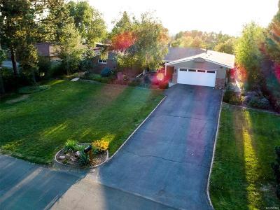 Wheat Ridge Single Family Home Under Contract: 31 Skyline Drive