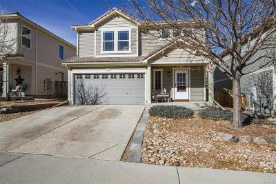 Castle Rock Single Family Home Under Contract: 2325 Quartz Street