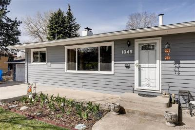 Lakewood Single Family Home Under Contract: 1045 South Dudley Street