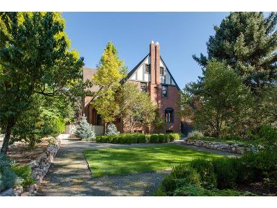 Denver CO Single Family Home Active: $1,075,000
