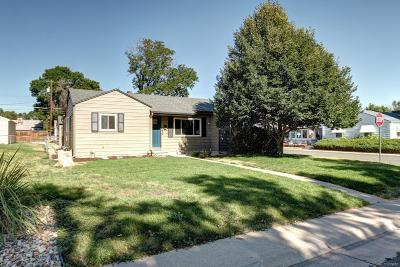 Denver Single Family Home Active: 1333 South Xavier Street