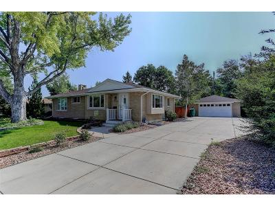 Centennial Single Family Home Under Contract: 5954 South Columbine Way