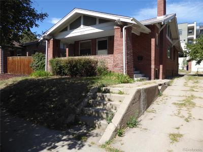 Denver Single Family Home Active: 3385 West Clyde Place