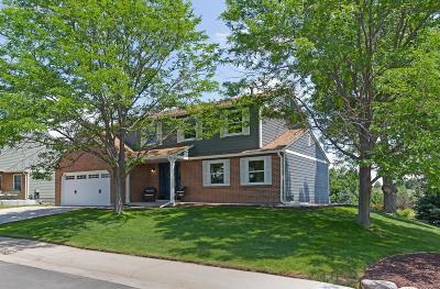 Littleton Single Family Home Active: 7346 South Nelson Street