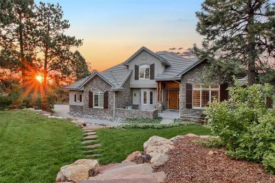 Castle Pines Single Family Home Active: 7122 Parkwood Lane