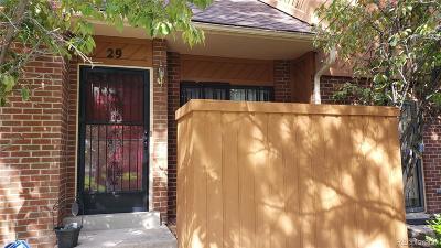 Denver Condo/Townhouse Under Contract: 3300 West Florida Avenue #29
