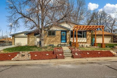Northglenn Single Family Home Under Contract: 10450 Pennsylvania Street