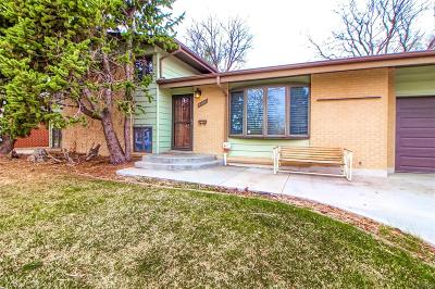 Arvada Single Family Home Active: 6105 Queen Street