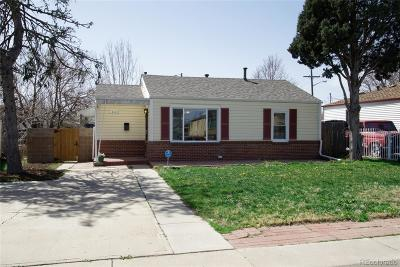 Denver Single Family Home Active: 1880 West Beekman Place