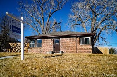 Denver Single Family Home Active: 2895 Pontiac Street