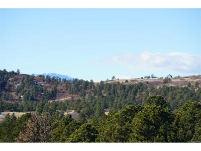 Castle Rock CO Residential Lots & Land Active: $520,000