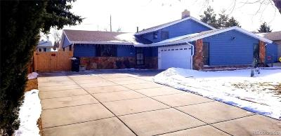 Aurora Single Family Home Active: 12860 East Nevada Circle