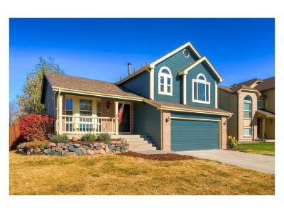 Castle Rock Single Family Home Under Contract: 3395 West Arrowleaf Court