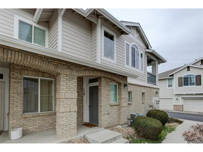 Highlands Ranch, Lone Tree Condo/Townhouse Under Contract: 159 Whitehaven Circle
