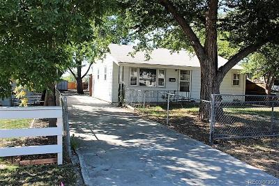 Westminster Single Family Home Under Contract: 7419 Raleigh Street