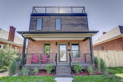 Denver Single Family Home Under Contract: 1240 South Clarkson Street