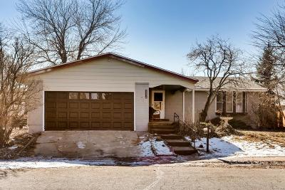 Boulder Single Family Home Active: 2956 Madera Court