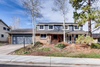 Centennial Single Family Home Under Contract: 6123 South Filbert Court