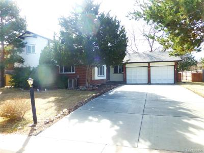 Littleton Single Family Home Under Contract: 5359 Morning Glory Lane