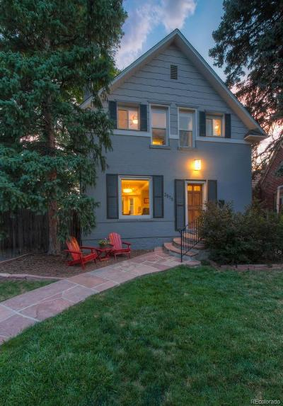Denver Single Family Home Active: 2575 Albion Street