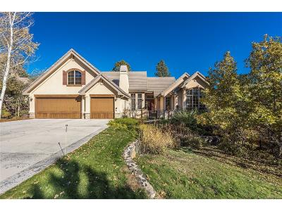 Castle Rock Single Family Home Under Contract: 624 Country Club Drive