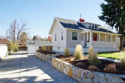 Wheat Ridge Single Family Home Under Contract: 4680 Newland Street