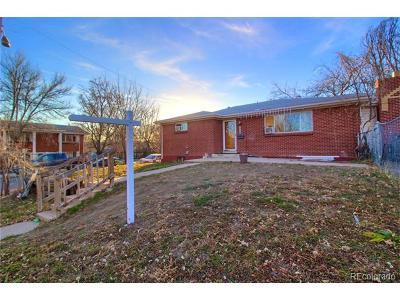 Denver Single Family Home Active: 807 Yates Street
