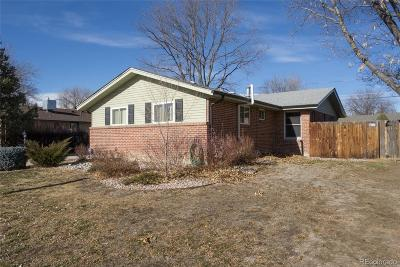 Arvada Single Family Home Under Contract: 10563 West 62nd Place
