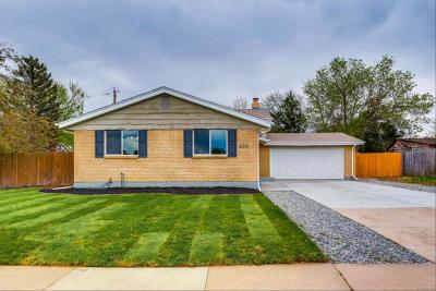 Aurora Single Family Home Active: 438 South Troy Street