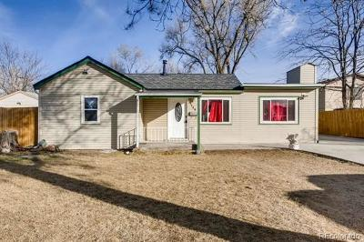 Commerce City Single Family Home Active: 7140 Newport Street