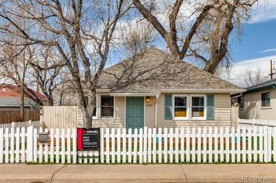 Denver Single Family Home Active: 4805 Chase Street