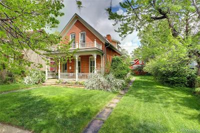 Boulder Single Family Home Active: 1921 Pine Street