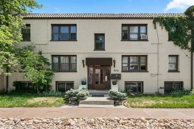 Denver Condo/Townhouse Active: 700 East Ellsworth Avenue #1