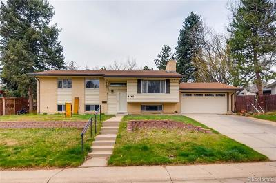 Denver Single Family Home Under Contract: 8465 East Lehigh Avenue