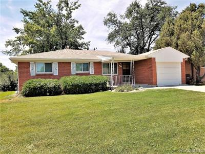 Broomfield County Single Family Home Active: 1256 West 6th Avenue