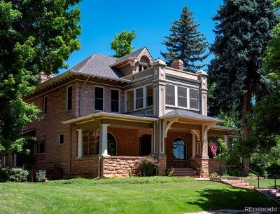 Boulder Single Family Home Active: 541 Spruce Street