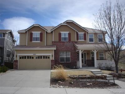 Castle Rock Single Family Home Active: 4582 Heartwood Way