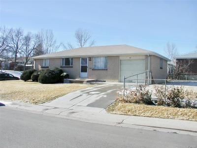 Denver Single Family Home Active: 1799 South Xavier Street