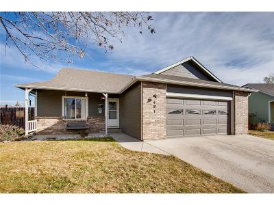 Platteville Single Family Home Under Contract: 491 Soar Lane